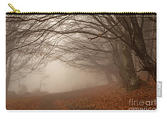 Old Beech Trees In Fog Carry-all Pouch