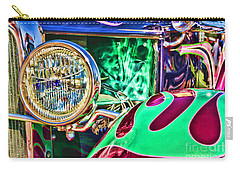 Old Betty Ford Vintage Car By Diana Sainz Carry-all Pouch