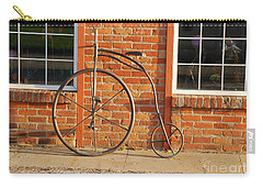 Carry-all Pouch featuring the photograph Old Bike by Mary Carol Story