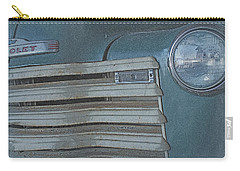 Carry-all Pouch featuring the photograph Old Blue by Lynn Sprowl