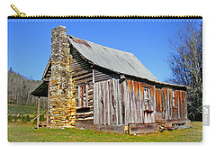 Old Cabin Along Macedonia Church Road Carry-all Pouch