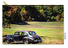 Old Car In A Meadow Carry-all Pouch