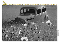 Carry-all Pouch featuring the photograph Old Car by Leticia Latocki