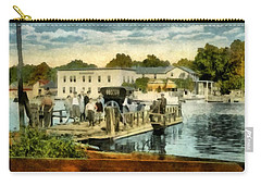 Old Chain Ferry Saugatuck Michigan Carry-all Pouch