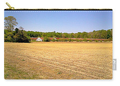 Carry-all Pouch featuring the photograph Old Chicken Houses by Amazing Photographs AKA Christian Wilson