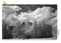 Carry-all Pouch featuring the photograph Old Coast Guard Barracks On Winter Island by Jeff Folger