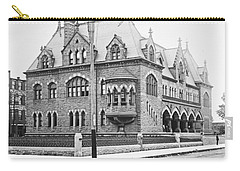 Old Customs House And Post Office Evansville Indiana 1915 Carry-all Pouch