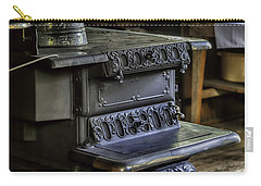 Old Farm Kitchen And Wood Burning Stove Carry-all Pouch