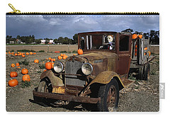 Carry-all Pouch featuring the photograph Old Farm Truck by Michael Gordon