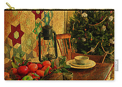 Old Fashion Christmas At Atalaya Carry-all Pouch by Kathy Baccari
