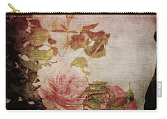 Old Fashion Rose Carry-all Pouch