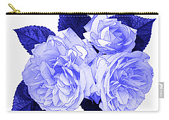 Carry-all Pouch featuring the photograph Old Fashioned Roses by Jane McIlroy