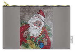 Old Fashioned Santa Carry-all Pouch by Kathy Marrs Chandler