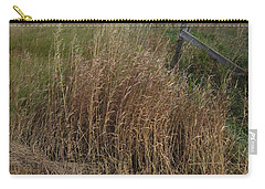 Old Fence Line Carry-all Pouch by Donald S Hall