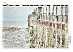 Old Fence To The Sea  Carry-all Pouch