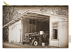 Carry-all Pouch featuring the photograph Old Ford by Faith Williams