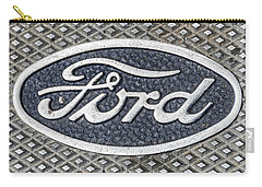 Old Ford Symbol Carry-all Pouch