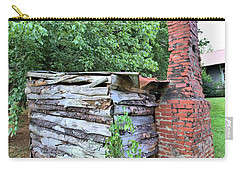 Carry-all Pouch featuring the photograph Old Georgia Smokehouse by Gordon Elwell