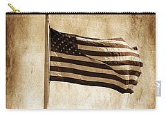Carry-all Pouch featuring the photograph Old Glory by Aaron Berg