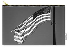 Carry-all Pouch featuring the photograph Old Glory by Ron White