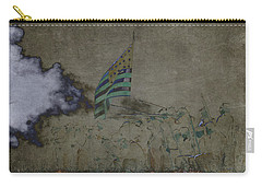 Old Glory Standoff Carry-all Pouch by Wes and Dotty Weber