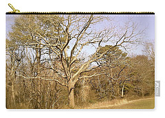 Carry-all Pouch featuring the photograph Old Haunted Tree by Amazing Photographs AKA Christian Wilson