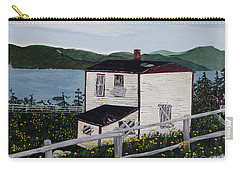 Old House - If Walls Could Talk Carry-all Pouch by Barbara Griffin