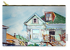 Old House In Springtime Berkeley Carry-all Pouch