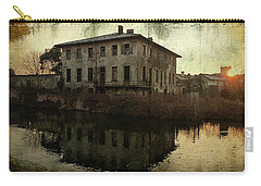 Old House On Canal Carry-all Pouch