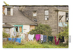Old House With Laundry Carry-all Pouch by Keith Webber Jr
