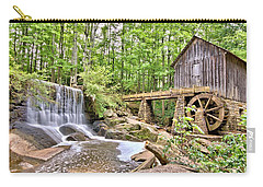 Old Lefler Grist Mill Carry-all Pouch by Gordon Elwell