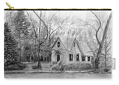 Old Library On Lake Afton - Winter Carry-all Pouch