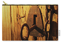 Old Lock And Key Carry-all Pouch