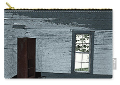Old Log House Interior Carry-all Pouch