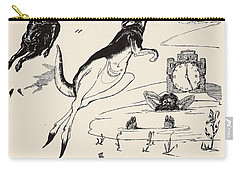 Old Man Kangaroo At Five Carry-all Pouch by Rudyard Kipling