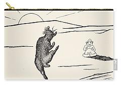 Old Man Kangaroo Carry-all Pouch by Rudyard Kipling