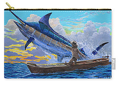 Old Man And The Sea Off00133 Carry-all Pouch by Carey Chen
