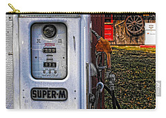Old Marathon Gas Pump Carry-all Pouch