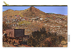 Old Mining Town No.24 Carry-all Pouch by Mark Myhaver