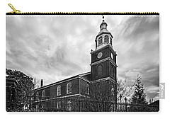 Old Otterbein Church In Black And White Carry-all Pouch