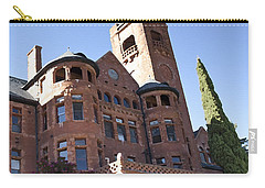 Carry-all Pouch featuring the photograph Old Preston Castle by David Millenheft