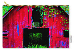 Old Red Barn Iv Carry-all Pouch