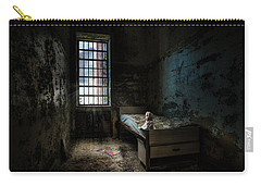 Old Room - Abandoned Places - Room With A Bed Carry-all Pouch