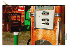 Old Route 66 Carry-all Pouch by Iconic Images Art Gallery David Pucciarelli