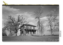 Old Rustic House On A Hill Carry-all Pouch