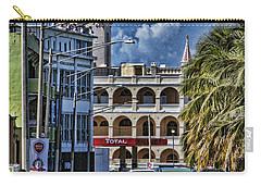 Old San Juan Cityscape Carry-all Pouch by Daniel Sheldon
