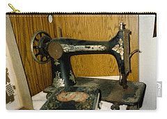 Old Sewing Machine Carry-all Pouch by Amazing Photographs AKA Christian Wilson