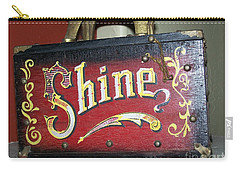 Old Shoe Shine Kit Carry-all Pouch