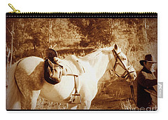 Carry-all Pouch featuring the photograph Old Spain by Clare Bevan