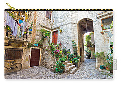Old Stone Street Of Trogir Carry-all Pouch